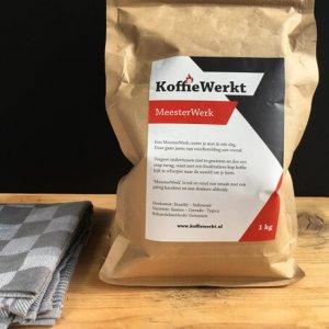 MeesterWerk koffiebonen van KoffieWerkt
