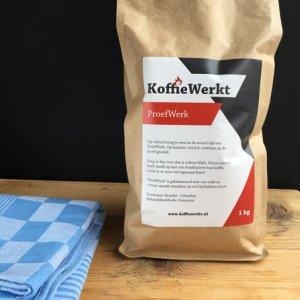 ProefWerk Koffiebonen van KoffieWerkt