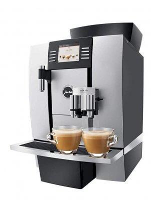 JURA X3c espressomachine zijkant
