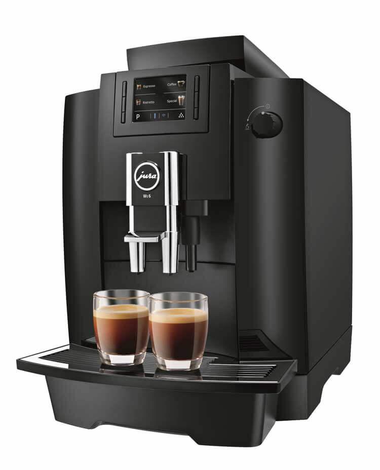 JURA WE6 espressomachine zijkant
